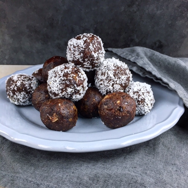 Chocolade energy balls