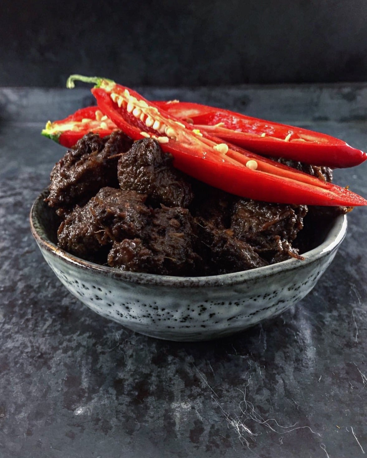 Pittige, Indonesische rendang