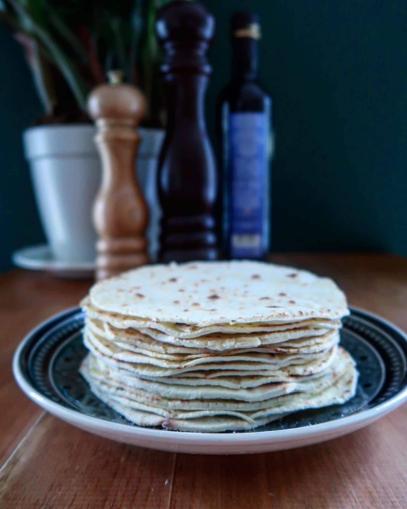 glutenvrije tortilla wraps
