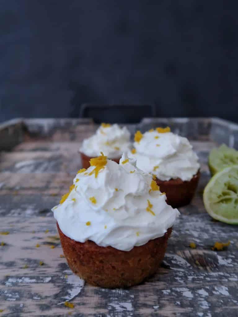 glutenvrije carrot cupcakes