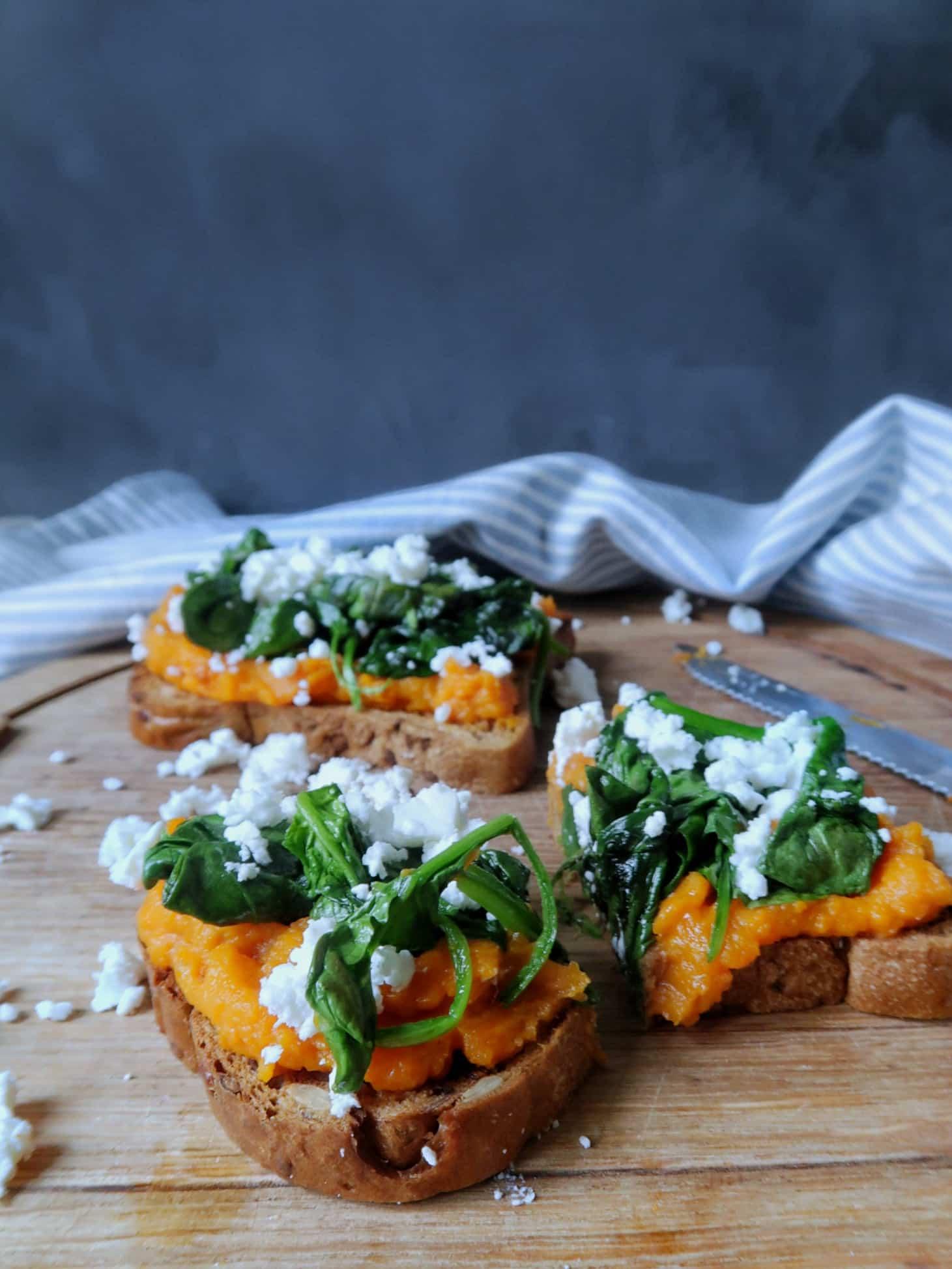 Broodje pompoen spread