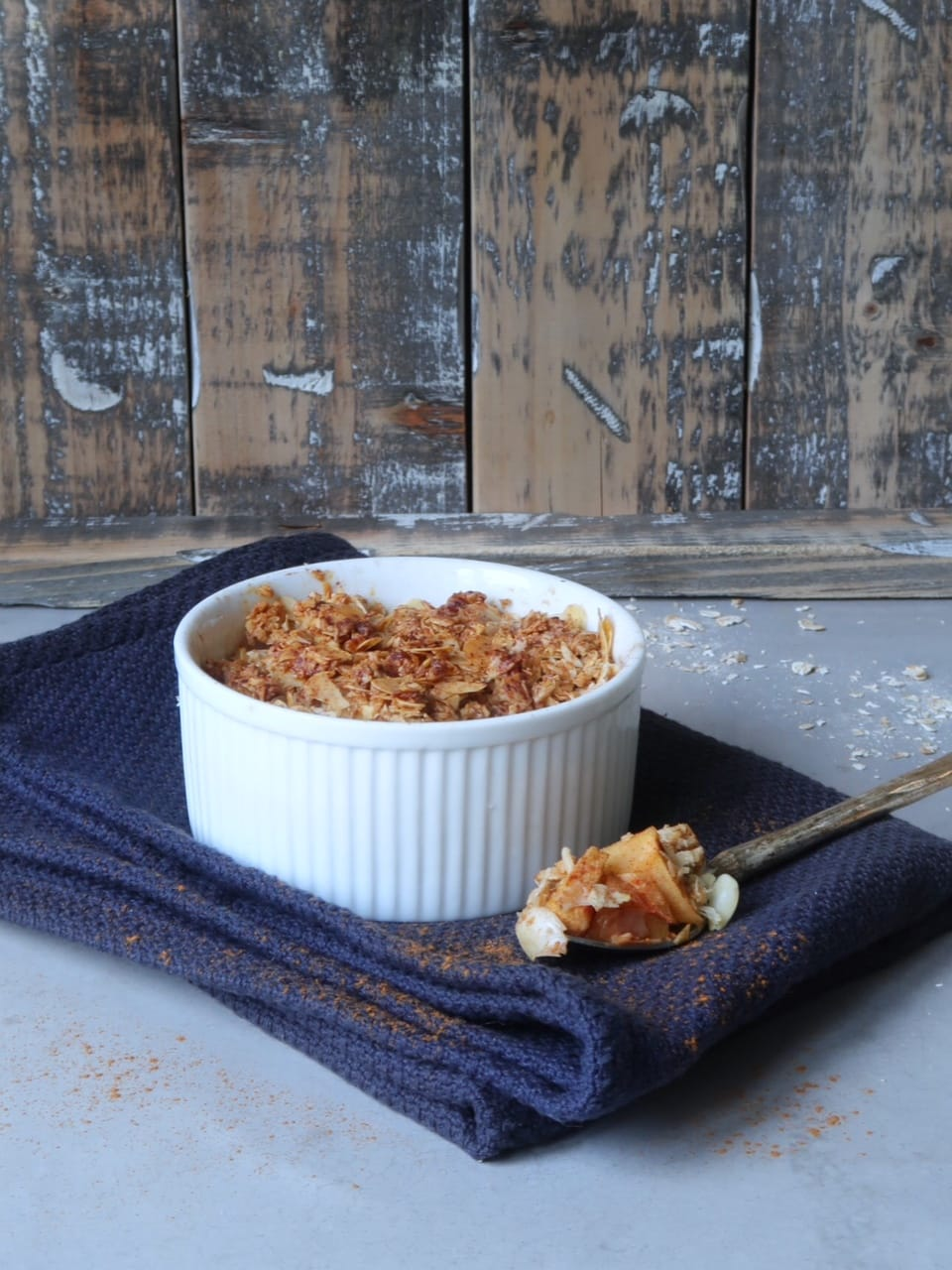 appel-havermout crumble