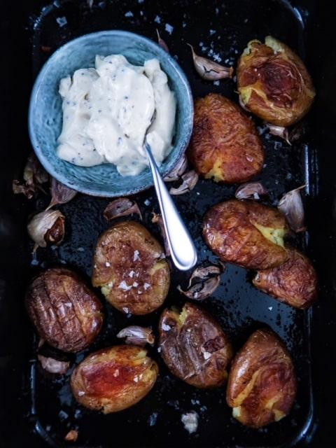 geplette aardappelen