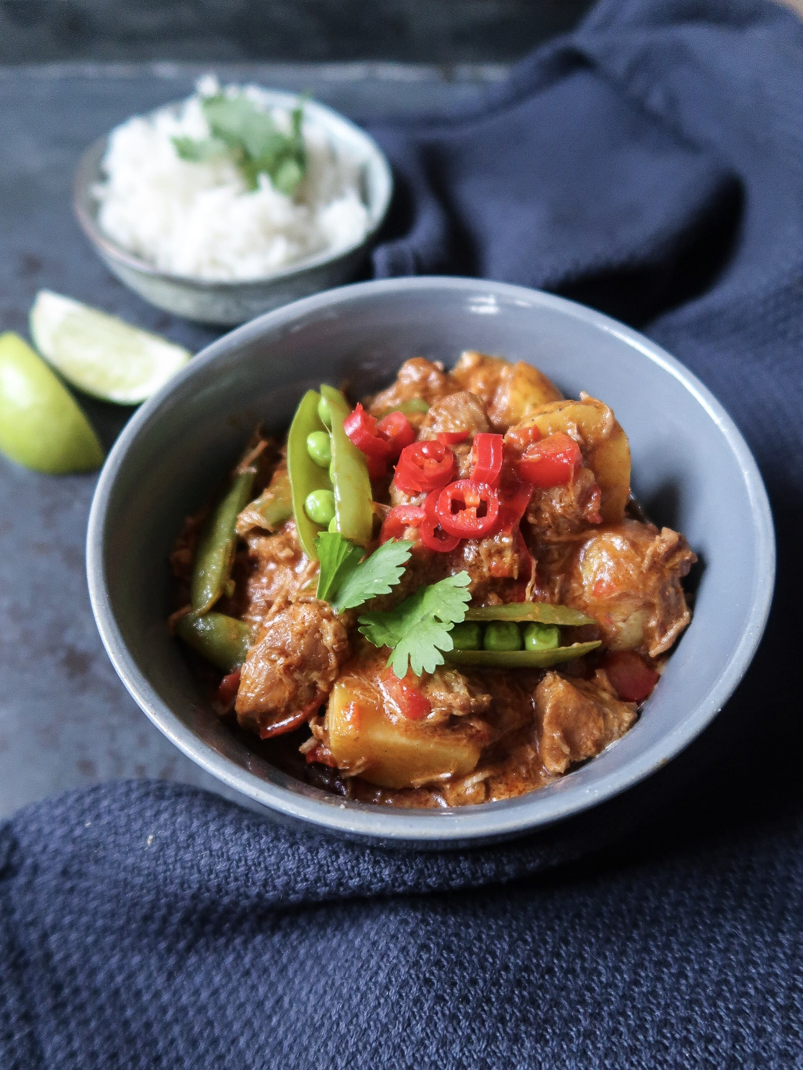 Massaman curry met lamsvlees