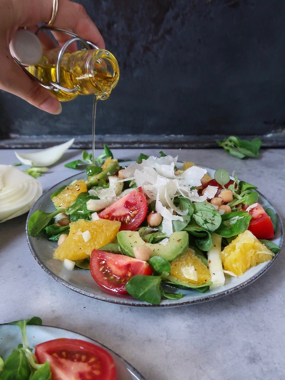 Salade met venkel en sinaasappel