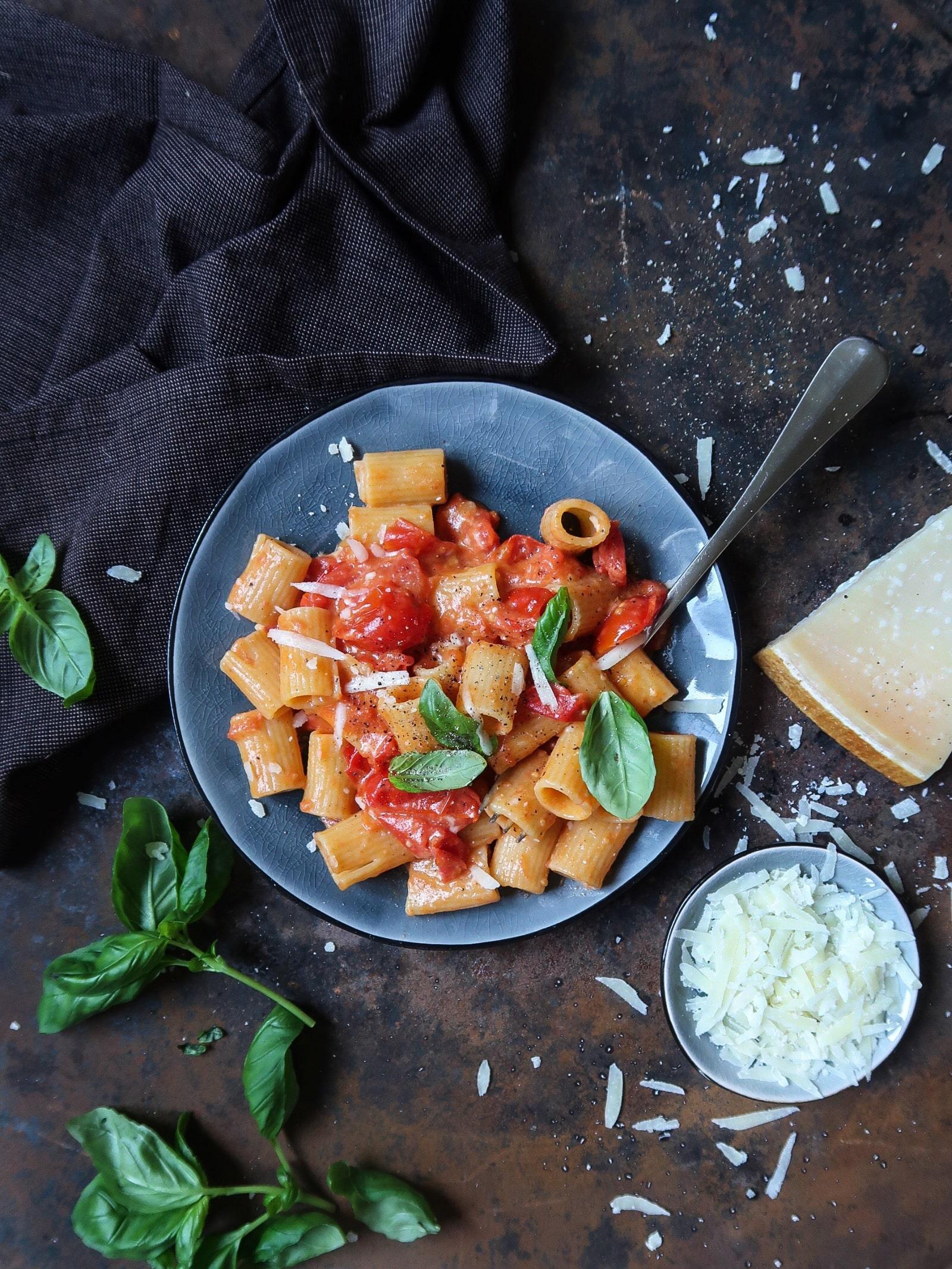 Glutenvrije pasta allo scarpariello