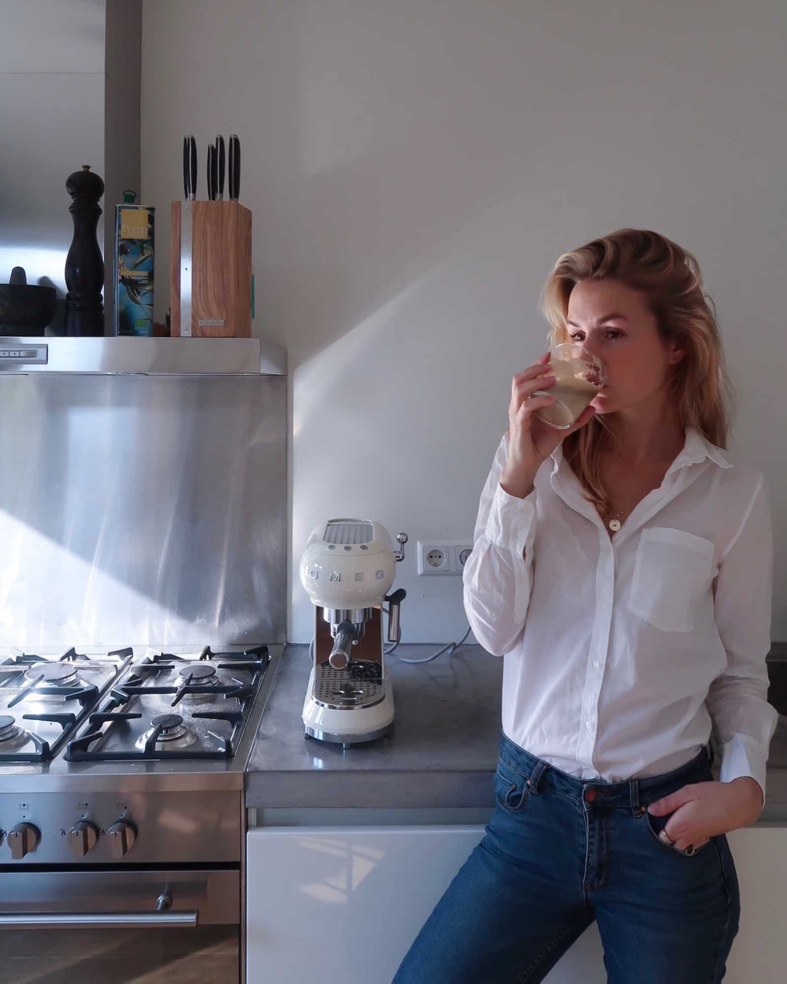 koffiemachine van Smeg