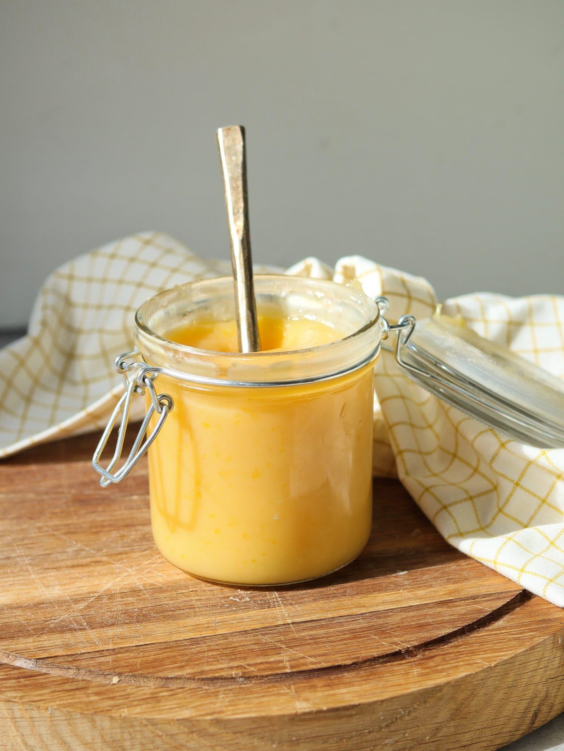 lemon curd recept