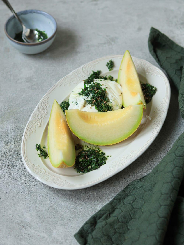meloen salsa verde